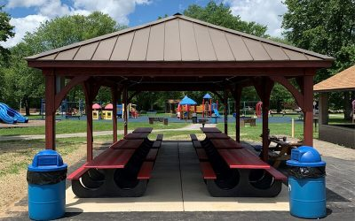 Silgan Closures Teams Up with Neshannock Township for New Plastic Picnic Tables